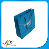 Good quality paper photo album packaging bags in guangzhou