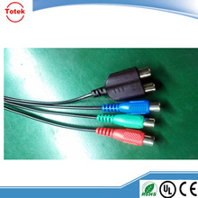 Professional Cables RCA/AV + Mini Din Cable