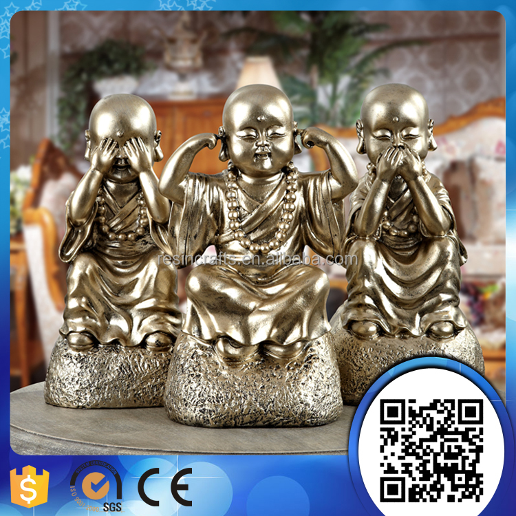 Factory supply hot sale religion products home decor resin buddha statues