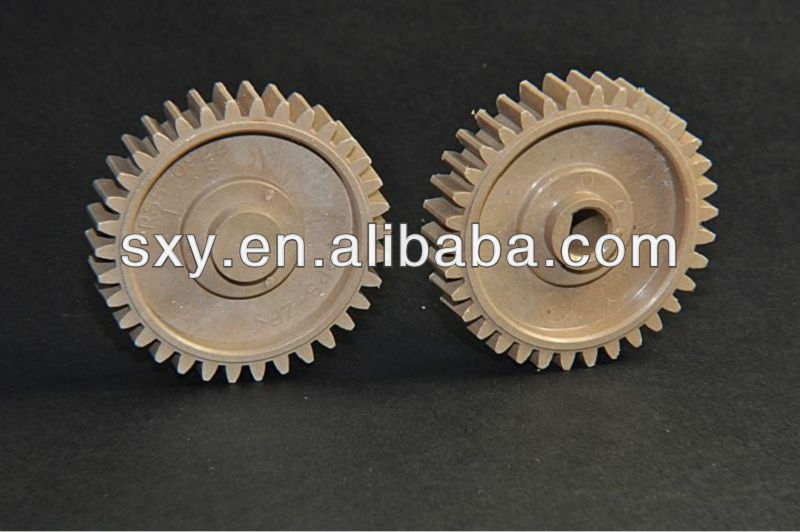 100% compatible new printer parts pressure roller fuser gear 34T for HP Laser jet 4000 4050 part no.RS5-0922-000