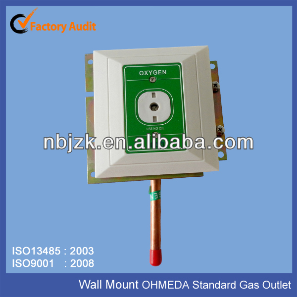Wall Mounted Ohmeda Standard Medical Gas Outlet Oxygen Outlet