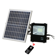 30w high lumen explosion proof portable smd solar led flood light