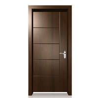 Walnut latest design wooden door interior door room door
