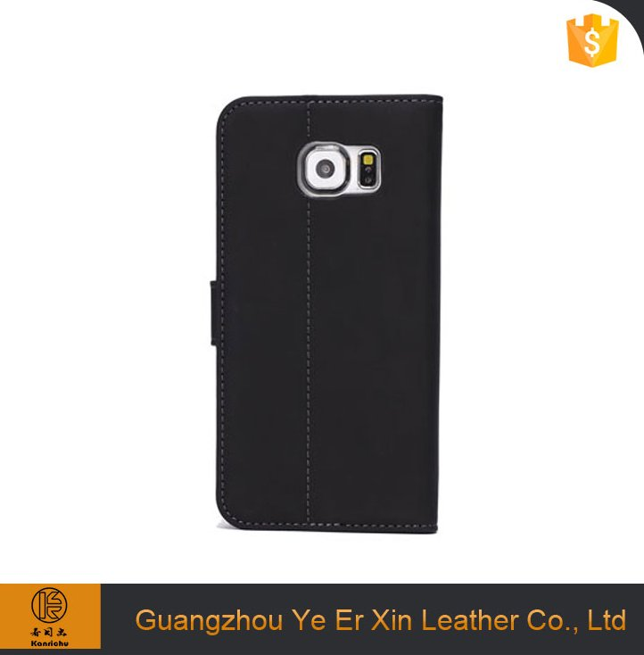 Phone case maker wholesale china free sample leather mobile phone case accessories for samsung s6 s7 edge