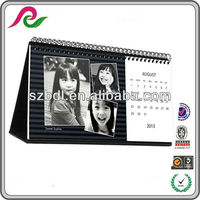 2014 different types spiral bound calendar