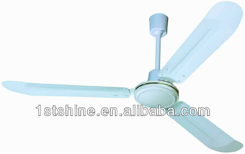 56 inch white industrial cooling ceiling fan with CE