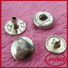 jacket buttons snap fastener