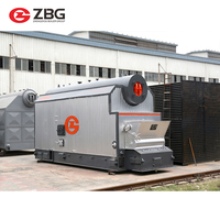 Large capacity automatic coal fired industrial multi-fuel fixed grate boiler