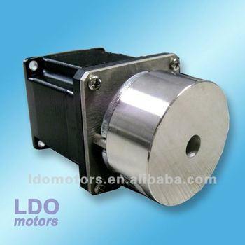 NEMA 23 hybrid stepper motor with electromagnetic brake, 57mm electric brake stepper motor Manufacturer