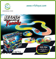 New Twister track glow in the dark with light up vehicle 220PCS