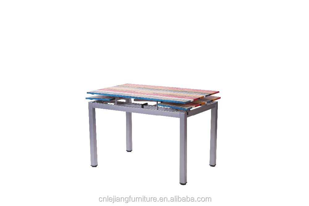 Colorful Extended Table Top Mdf Painting New Product For