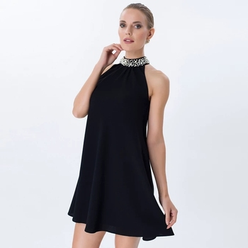 2019 Women clothing sleeveless evening little black party dresses