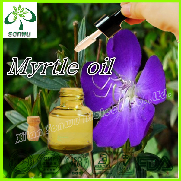Pure natural myrtle oil/myrtle essential oil