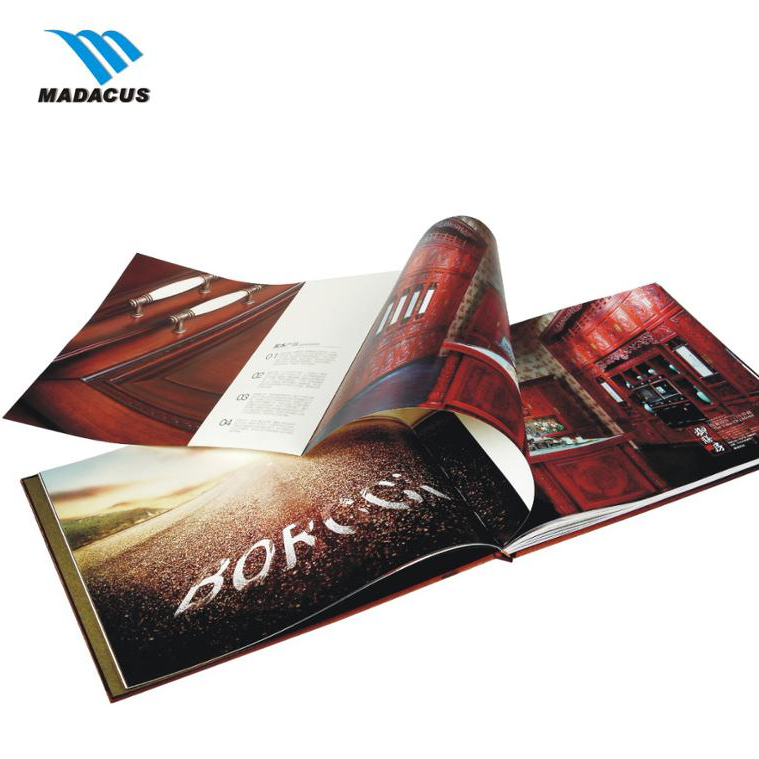 Customized perfect binding Booklet Catalogue Leaflet Brochure /Magazine <strong>Printing</strong>