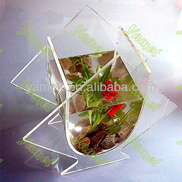 Transparent acrylic desk fish tank for household 2014