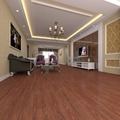 Non-slip PVC waterproof long time using wooden finished vinyl floor tile