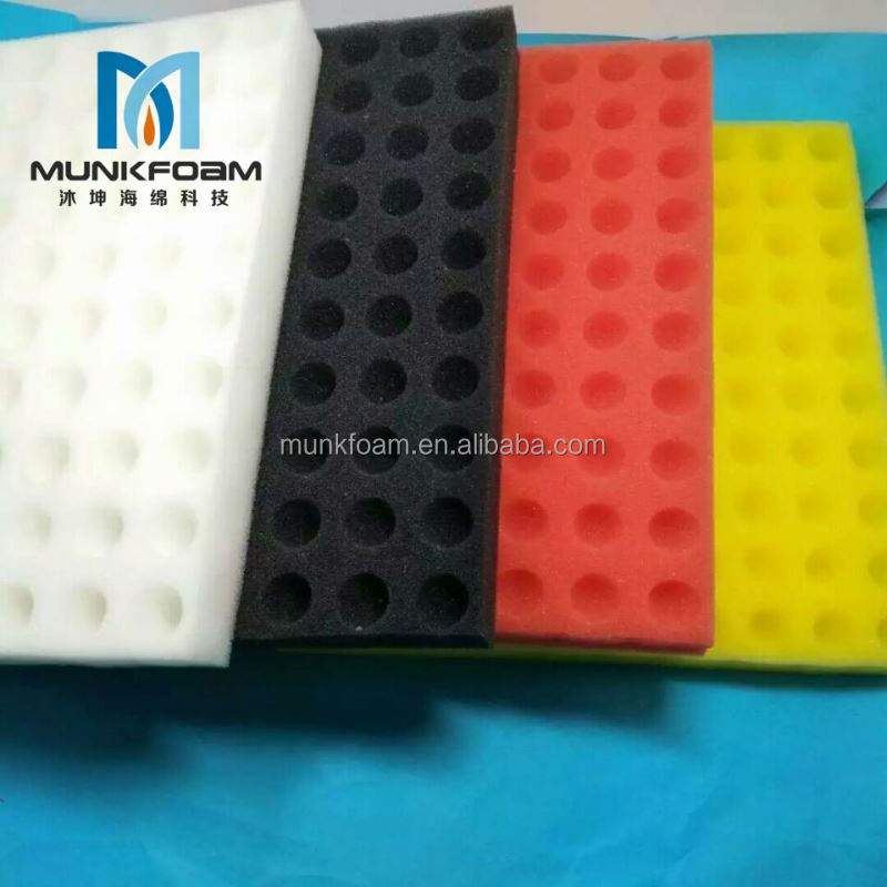 Facroty directly sell embossed eva foam insert PU/PE/EVA/EPE foam insert good price free sample