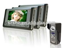 hot selling 7'' color wired video door phone commax intercom