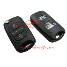 3 Button Key Cover Flip Folding Remote Key Case K-IA Soul Cerato Koup Sportage Rio Sorento Replacement Shell