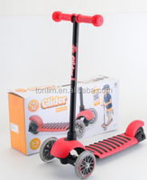 Kids kick scooter, new stunt scooter for kids scooter 3 wheel ,EN71 passed folding style cheap kids scooter