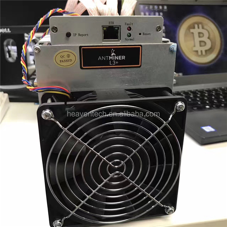 2017 Newest Futures July Bitmain antminer L3+ 504M 800W 1.6J/MH litecoin miner LTC mining better than L3 A4