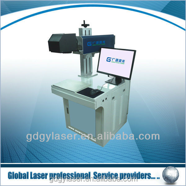 pigeon ring/bird ring fiber laser marking machine with rotary device