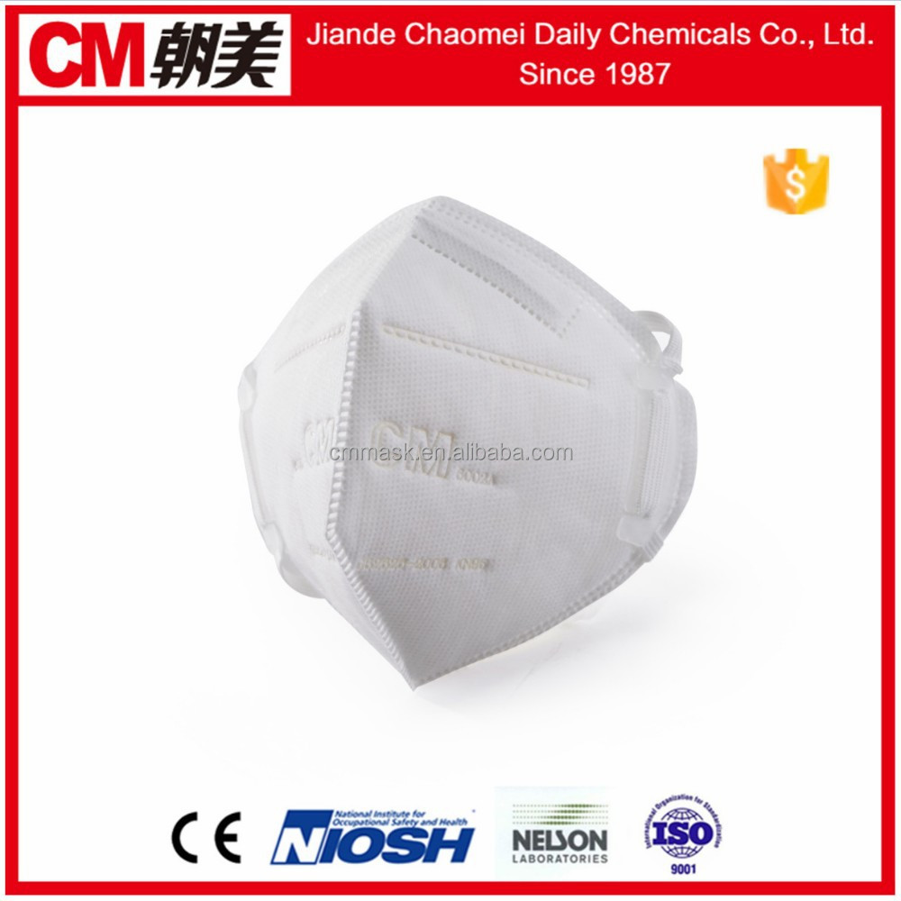 Wholesale CM new fold shape dust mask respirator with n95 ffp1 ...