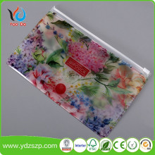 Heat Seal Eco-friendly Soft Plastic Frosted Cosmetic EVA Zipper Bags