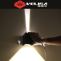 Vintage Popular design 8W led wall lighting/square led wall lamps