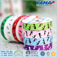 Competitive price personality custom printed elastic ribbon