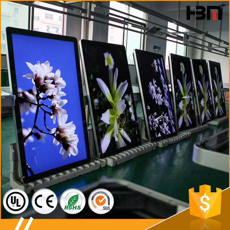 wall mounted LED samsung screen digital signage wifi and 3G