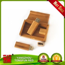 Cheap 1gb bamboo wood usb flash drive