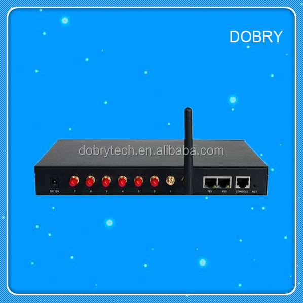 Dinstar GOIP 4 Port GSM VoIP Gateway with IMEI Changeable