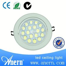 Newest decorative 18W recessed LED down lamp about 90lm/W