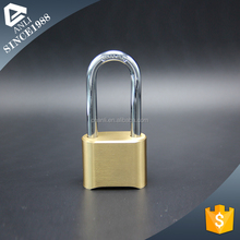 New product small combination padlock lock box 50MM MASTER TYPE BRASS COMBINATION PADLOCK