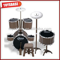 Cool jazz toy wooden hand drums
