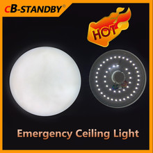 Heat resistant battery backup emergency led ceiling lamp rechargeable lighting lantern