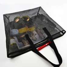 new type of big shopper carry woven bag