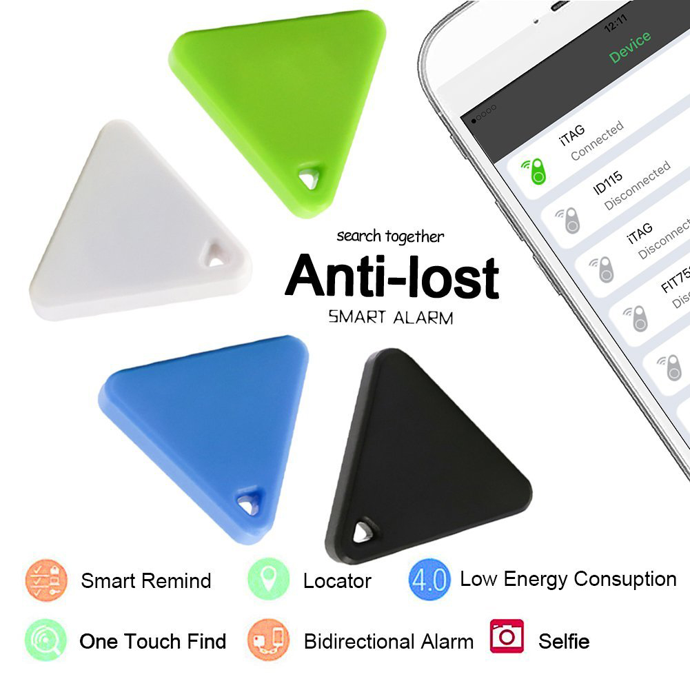 Smart Wireless Bluetooth 4.0 Anti Lost Tracker Alarmer Key Finder GPS Locator