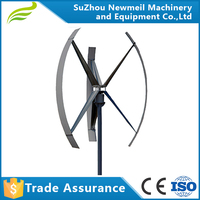 Newmeil Factory supply 3 year warranty Low RPM 300W 500W 1KW 2KW 3KW 5KW vertical wind power generators wind turbine for sale