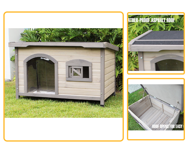 White color design custom indoor wooden pet home igloo dog house for sale