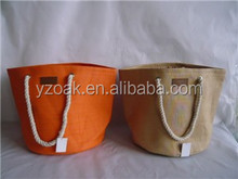 Large wholesale shopping paper straw basket