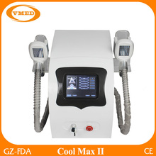 Fast and Effective Slim Freezer Weight Loss 2 handles Cryolipolysie Machine