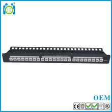 RJ45 CAT.6 24 port UTP krone Patch Panel