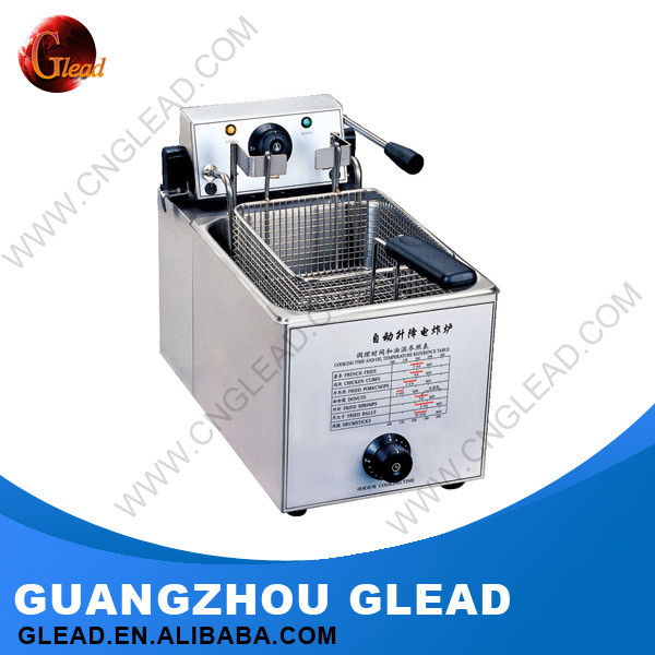 Kitchen Equipment For Restautant Automatic Industrial Fish And Chips Electric Deep Fryer