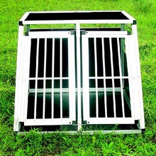 large aluminum folding pet cages China supplier