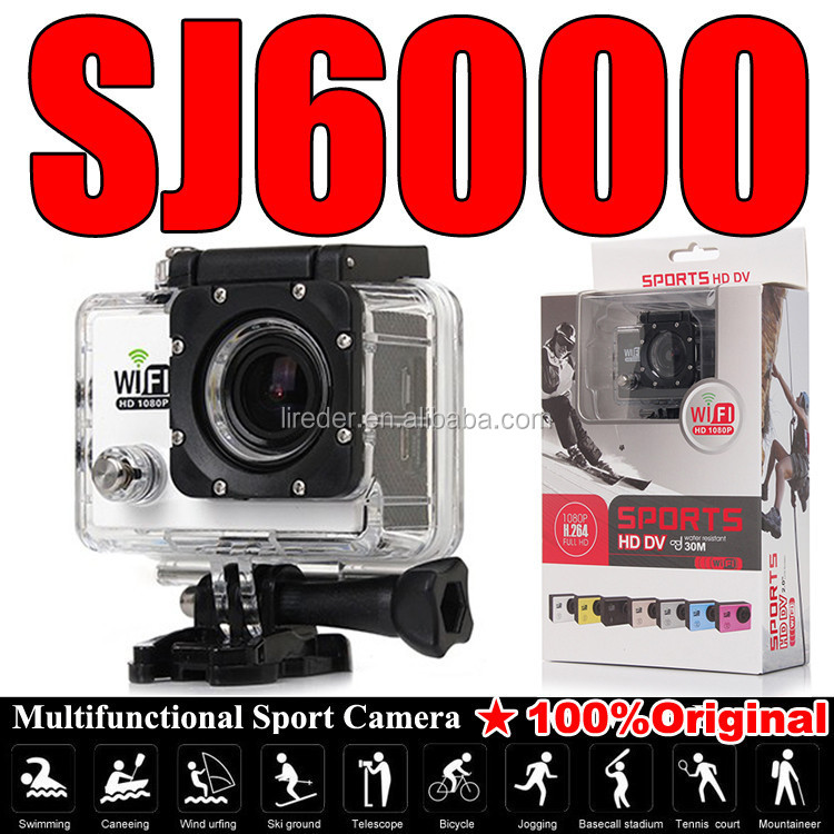 32GB SJ5000 SJ6000 Sport Camera 1080p Hd Action Sport Camera SJ4000 Waterproof Outdoor Helmet Mini DV Camcorder Car DVR Camera