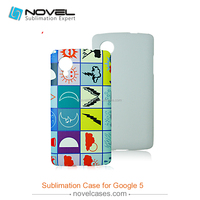 Hot Sale Sublimation Phone Case Cover for Google Nexus 5, DIY Phone Case Cover