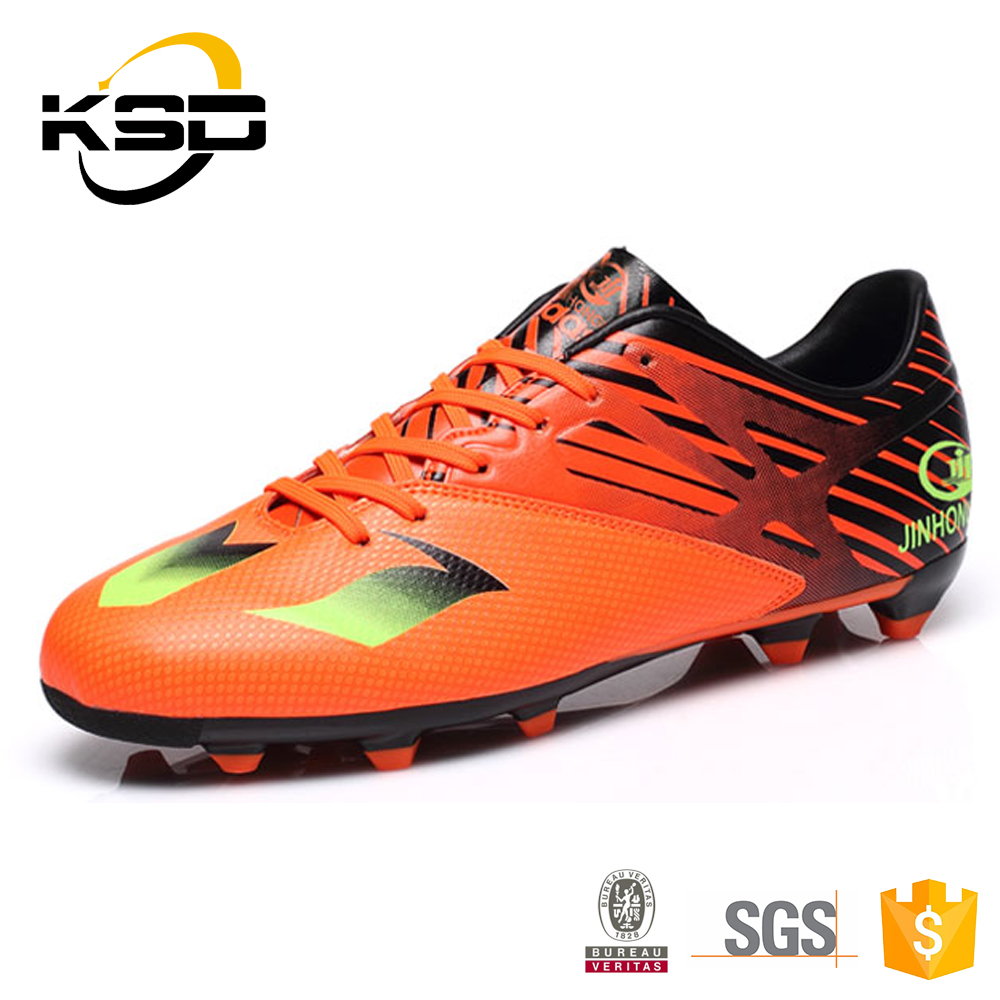 2016 Newest Men Spike Soccer Shoes Football Spike Shoes Suitable Running Sport