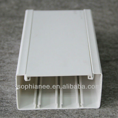 Wall electrical PVC Plastic Wire Duct